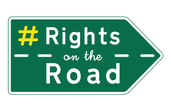 Rights on the Road logo